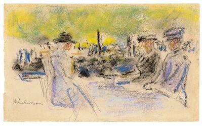 Max Liebermann, 'Am Tisch', ca. ca. 1905-1911