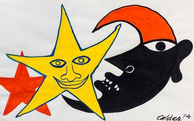 Alexander Calder, 'Mirobolant', 1974