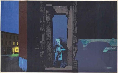 R. B. Kitaj, 'Outlying London Districts II (Kinsman 49)', 1971
