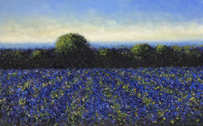 John Stockwell, 'Blue Belle', 2019