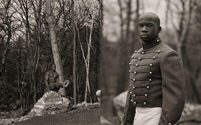 Anderson & Low, 'William Reynolds, Gymnast, US Military Academy', 2001