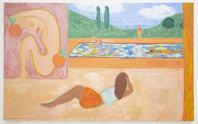 Jessie Edelman, 'Fresco with Oranges', 2018