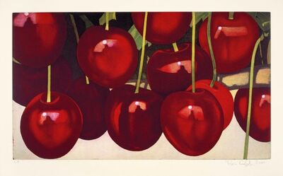 Karin Kneffel, 'untitled (cherries)', 2004