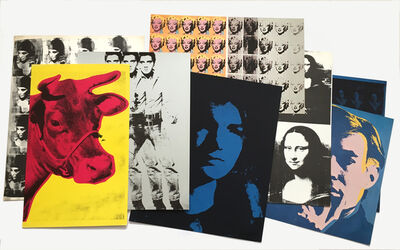 Andy Warhol, 'Set of 8 Andy Warhol Portraits from Artists & Photographs', 1970