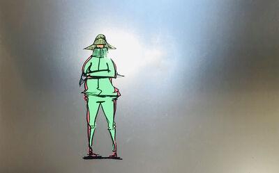 Taku Obata, 'B-Girl jersey', 2016
