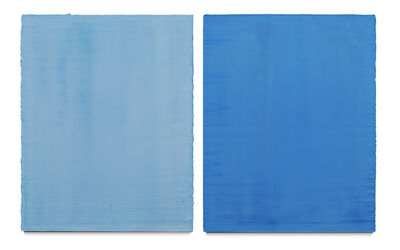 Willy De Sauter, 'untitled (diptych)', 2017