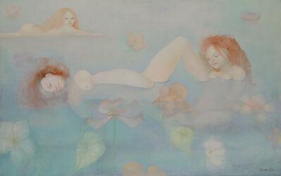 Leonor Fini, 'Les Baigneuses (The bathers)', 1972