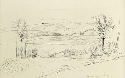 André Dunoyer de Segonzac, 'Paysage (Landscape)'