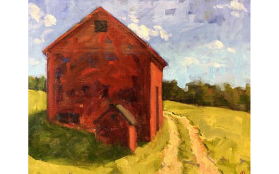 Joan Griswold, 'By the Barn				 ', 2019