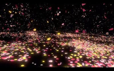 Sarah Meyohas, 'Cloud of Petals Interactive VR Experience #3', 2017