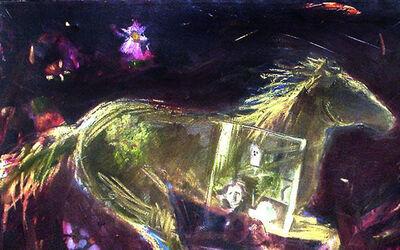 Audrey Anastasi, 'Running Horse', 2013