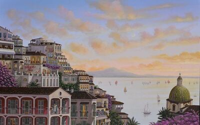 Liudmila Kondakova, 'Sunset In Positano ', 2017