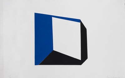 Beverly Pepper, 'Blue and Black Frame', 1968