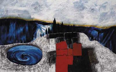 Stanley Donwood, 'War Village', 2000
