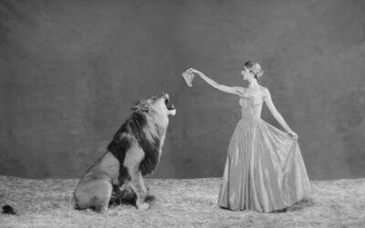 Tyler Shields, 'Lion Tamer', 2019