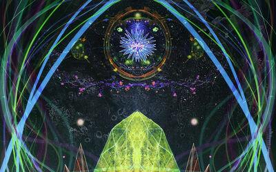 Christine Nguyen, 'Crystal Orbits', 2021