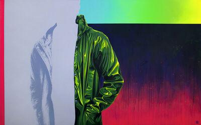Sebastián Riffo Montenegro, 'Raincoat Green II', 2018