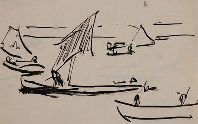 Ernst Ludwig Kirchner, 'Segelboote (Sailboats) ', 1910