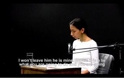 Regina José Galindo, 'La Verdad', 2013