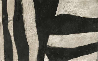 Charlotte Park, 'Untitled (Black and Gray)', ca. 1950