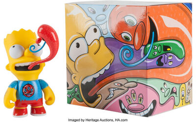 Kenny Scharf x Kidrobot, 'Bart, from the Simpsons', 2015