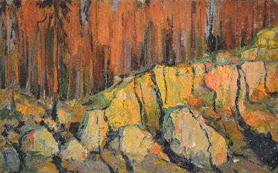 Vladimir Klimentevich Zhuk, 'Stones under the sun', 1964