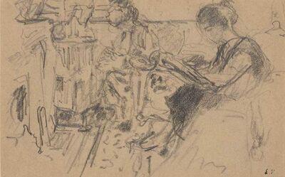Édouard Vuillard, 'Femme Lisant', circa 1920