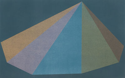 Sol LeWitt, 'Plate One, from the suite Pyramids', 1987