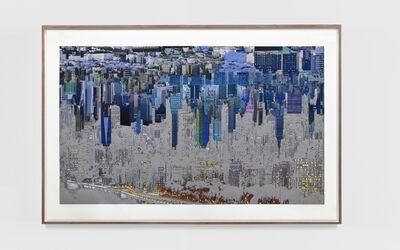 Sabine Hornig, 'Skyline Silver Negative', 2020