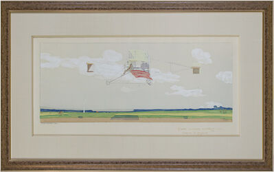 Marguerite Montaut (GAMY), 'Coupe Gordon Bennett 1909 - Curtiss le Gagnant (airplane)', 1909