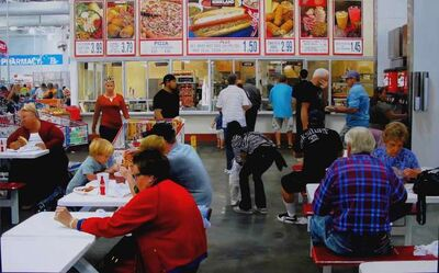Romain E., 'Costco Brunch Orange County', 2013