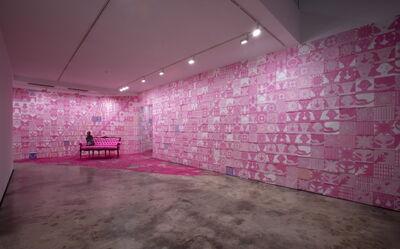Suknam Yun, 'Pink Room V'