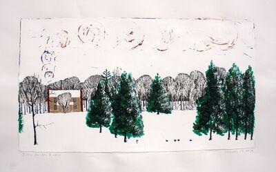 John Borden Evans, 'Snow, House and Smoke', 2014