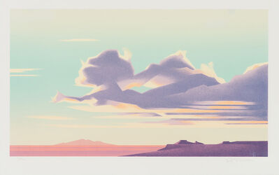 Ed Mell, 'Clouds Over Third Mesa', 1982