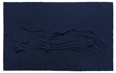 Jason Martin, 'Untitled Prussian Blue', 2014