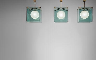 Max Ingrand, 'Set of three ceiling lights, model no. 2073', 1960s