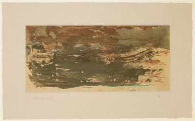 Helen Frankenthaler, ' Earth Slice', 1978