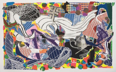 Frank Stella, 'Monstrous Pictures of Whales', 1993