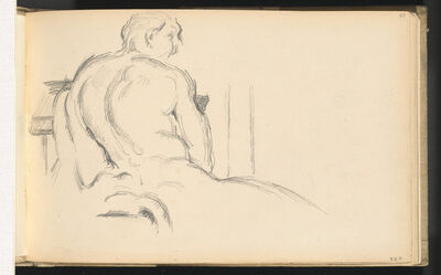 "Paul Cézanne, 'Study of Puget's ""Hercules Resting""', ca. 1879"