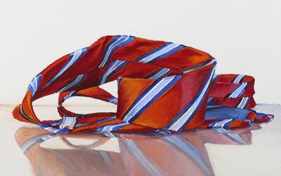 Ray Kleinlein, 'Red and Blue Stripes (Tie)', 2016