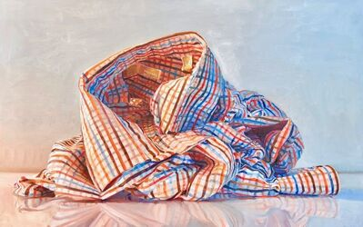 Ray Kleinlein, 'Blue and Orange Stripes', 2019