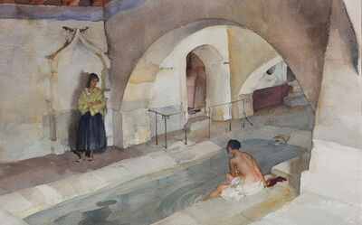 William Russell Flint, 'Lilette and Lucille', 1952