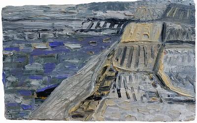 Erik Neff, 'Blue Gray on Wood', 2019