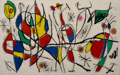 Joan Miró, 'The Sunday Guest I | L'invitée du dimanche I', 1969