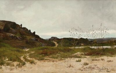 Hugh Bolton Jones, 'Coastal Landscape', ca. 1879
