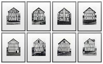 Bernd and Hilla Becher, 'Framework Houses', 1993