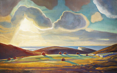 Rockwell Kent, 'When the Sun Shines', 1926-27