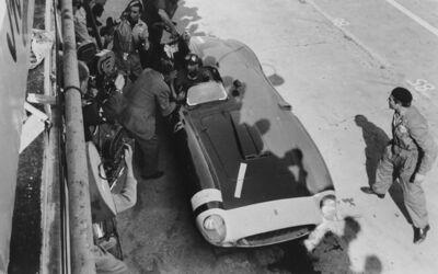 Jesse Alexander, 'Fangio, Ferrari, 1000 KM Nürburgring', 1956