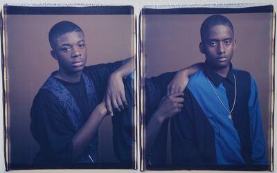 Dawoud Bey, 'Hubert and David', 1993