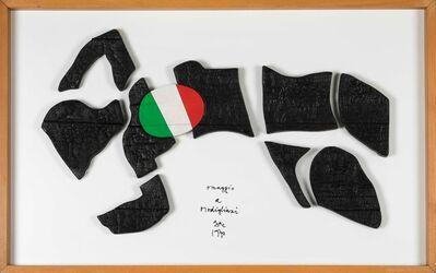 Guglielmo Achille Cavellini, 'Omaggio a Modigliani', 1970